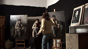 """Charles H. Cecil Studios - """"Painting from life"""" at Charles H. Cecil Studios"""