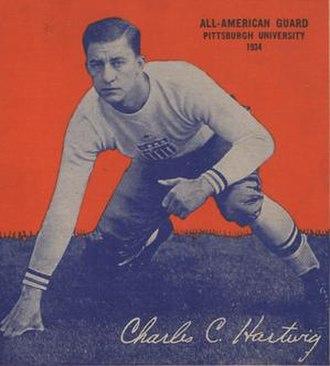 Chuck Hartwig - Hartwig from 1935 Wheaties box