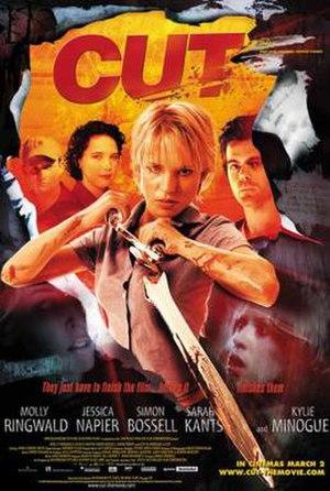 Cut (2000 film) - Image: Cutfilmposter