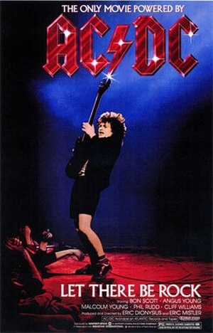 AC/DC: Let There Be Rock - Image: DC Let There Be Rock Video Cover