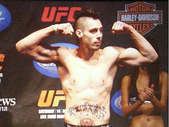 UFC 120 - Dan Hardy aimed to recover from a title loss at UFC 111 by taking on former WEC champion, Carlos Condit