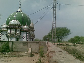Dholla Kalan - Image: Darbar Mian Haji Sahib Dholla Tehsil Phalia District Mandi Bahauddin