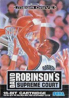<i>David Robinsons Supreme Court</i> 1992 video game