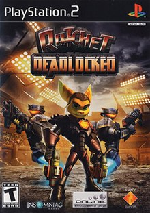Image result for ratchet and clank deadlocked