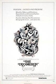 <i>The Decameron</i> (1971 film) 1971 Italian film