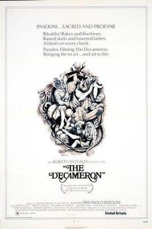 The Decameron (1971 film) - Il Decameron film poster
