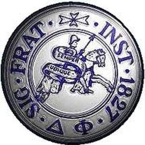 Delta Phi - Image: Delta Phi Badge