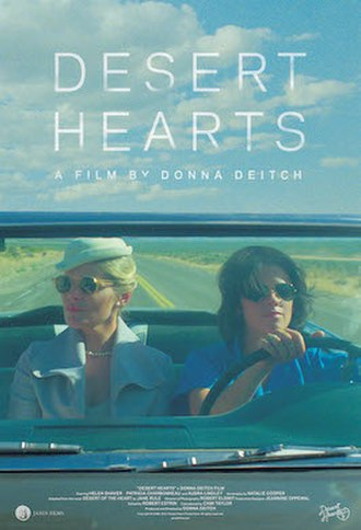 Desert Hearts - Theatrical poster for 2017 release of 4K restoration.