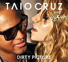 Taio Cruz featuring Kesha — Dirty Picture (studio acapella)