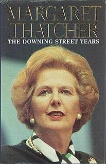 memoir by Margaret Thatcher