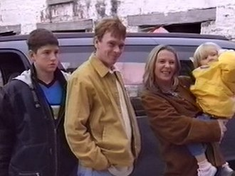 EastEnders episodes in Ireland - Martin, Ian, Ruth and Lucy arrive in Ireland.