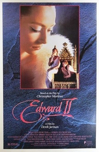 Edward II (film) - Theatrical release poster