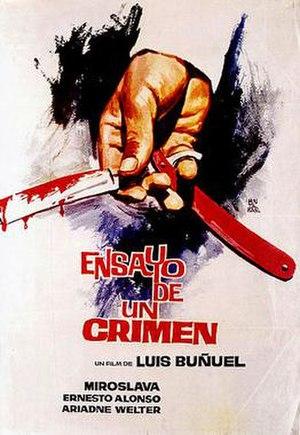 The Criminal Life of Archibaldo de la Cruz - Ensayo de un Crimen poster