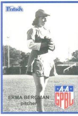 Erma Bergmann - Image: Erma Bergmann
