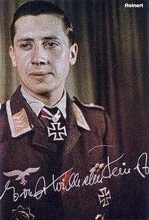 Ernst-Wilhelm Reinert German Luftwaffe fighter ace