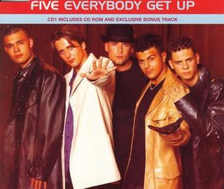 Everybody Get Up 1998 single by Five
