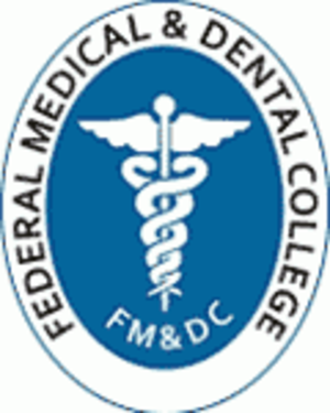 Federal Medical and Dental College - Image: FMDC Islamabad logo