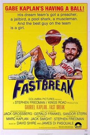 Fast Break (film) - film poster by Jack Davis