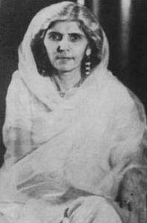 Women in Pakistan - Fatima Jinnah (1893–1967) was a Pakistani dental surgeon, biographer, stateswoman and one of the leading founders of Pakistan