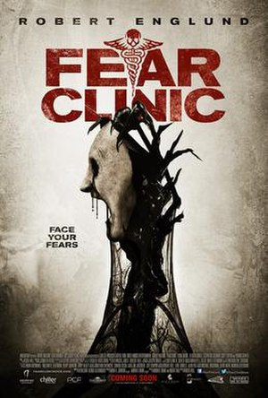 Fear Clinic (film) - theatrical release poster