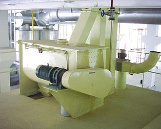 Feed mixer - Horizontal Ribbon Mixer