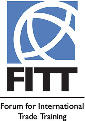 Forum for International Trade Training - Image: Forum for International Trade Training (FITT) Logo