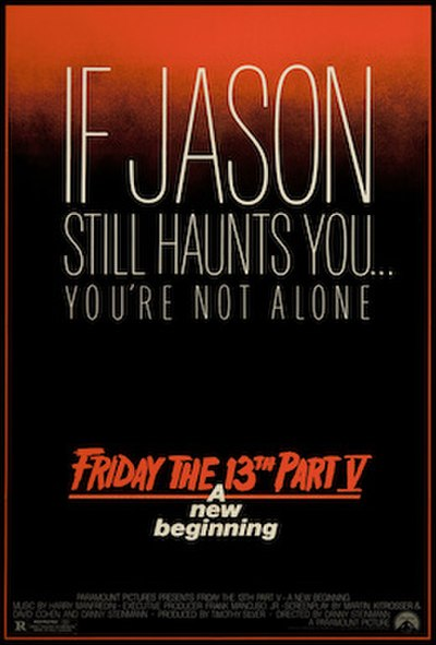 Picture of a movie: Friday The 13th: A New Beginning