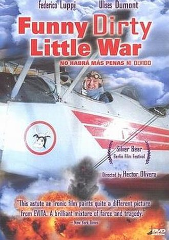Funny Dirty Little War - DVD cover