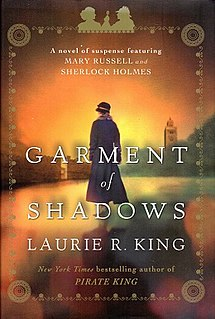 <i>Garment of Shadows</i> Novel by Laurie R. King