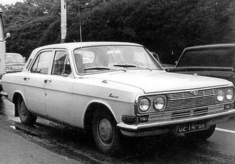 GAZ-24 - M-24 prototype (photo dated 1967). Some prototypes had quad headlights. First prototypes were built in 1966.
