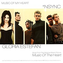 Gloria Estefan and NSYNC — Music of My Heart (studio acapella)