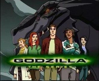 Godzilla: The Series - Title card