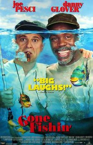 Gone Fishin' (film) - Theatrical release poster
