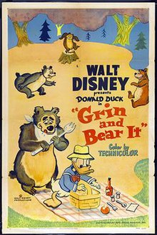 Grin and Bear It (1954 Donald Duck short film) poster.jpg