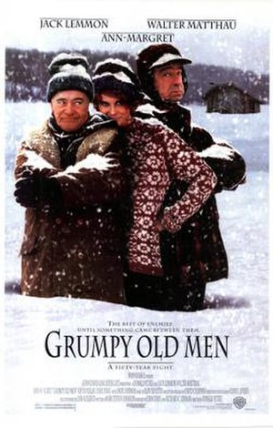 Grumpy Old Men (film) - Theatrical release poster