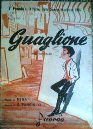 Guaglione - Original sheet music cover image