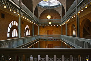 Hearst Memorial Mining Building - Hearst Mining building interior in 2009