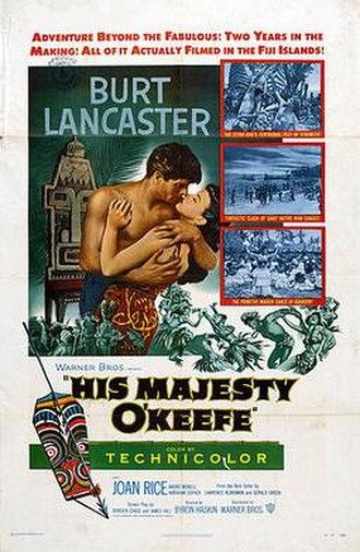 His Majesty O'Keefe - Image: His Majesty O Keefe US Poste