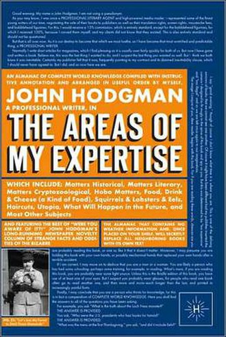 The Areas of My Expertise - Image: Hodgemanssf