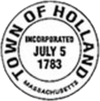 Official seal of Holland, Massachusetts