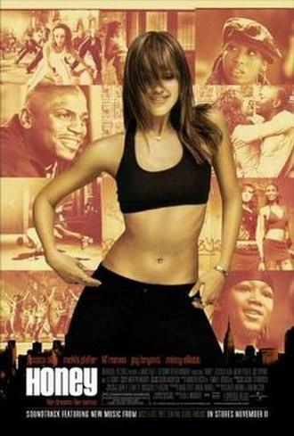 Honey (2003 film) - Theatrical release poster