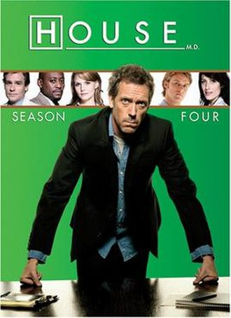 House (season 4) - Image: House MD s 4 US DVD