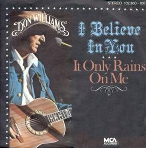 I Believe in You (Don Williams song) - Image: I Believe in You Don Williams