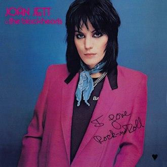 I Love Rock 'n Roll (album) - Image: I love rock n' roll joan jett (album cover)