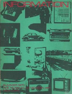 "Information art - Kynaston McShine's ""Information"""