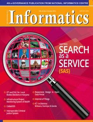 Informatics.nic.in - Image: Informatics