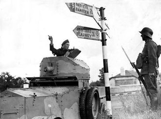 Rolls-Royce Armoured Car - Irish Rolls-Royce Armoured Car Co. Cork 1941