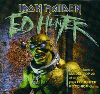 <i>Ed Hunter</i> 1999 compilation album & video game by Iron Maiden & Synthetic Dimensions