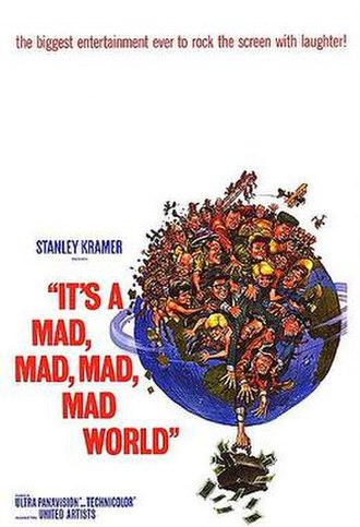 It's a Mad, Mad, Mad, Mad World - Theatrical release poster by Jack Davis