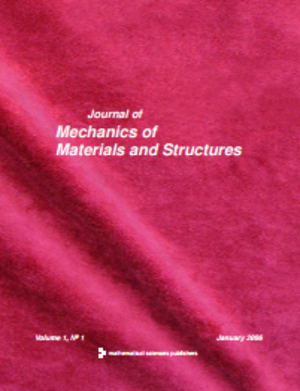 Journal of Mechanics of Materials and Structures - Image: Jo MMS low resolution cover